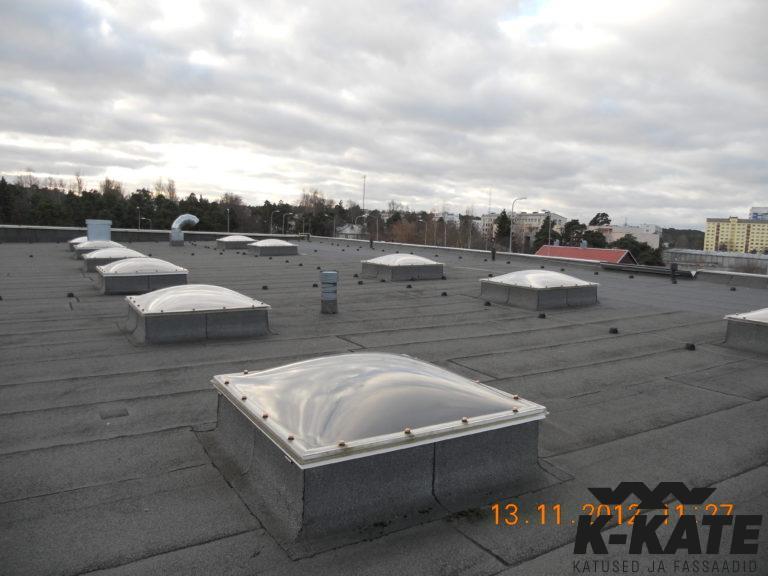 katuse ehitus, katuse tööd